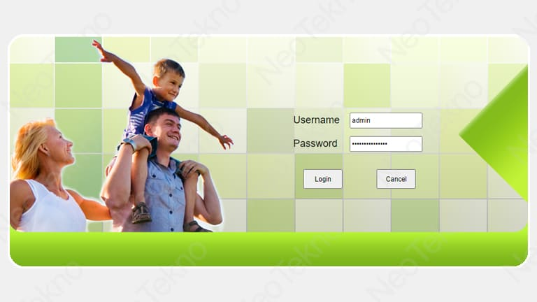 password admin indihome fiberhome