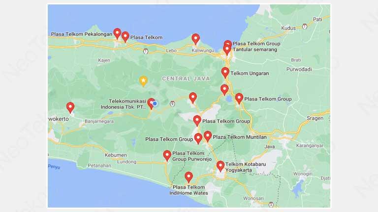 Kantor Plaza Telkom Jawa Tengah