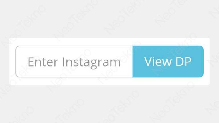 view dp instagram