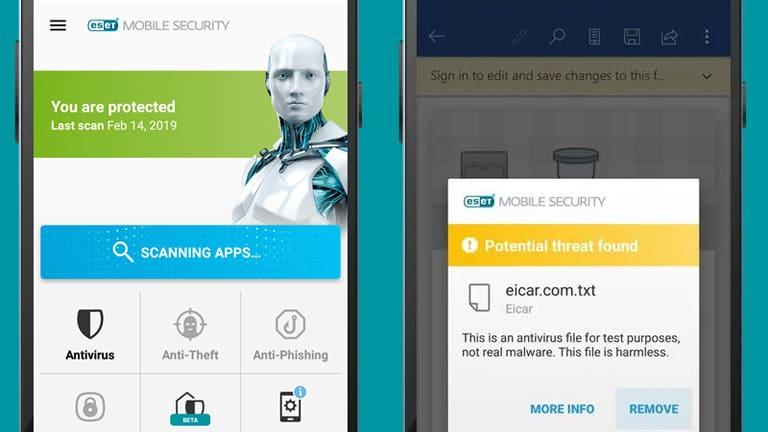 antivirus android terbaik dan ringan