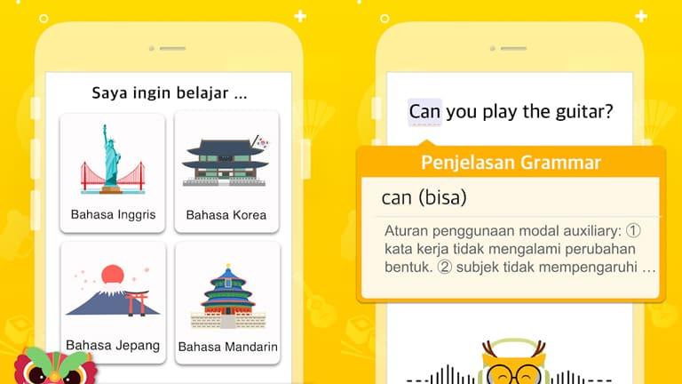 aplikasi belajar bahasa inggris gratis