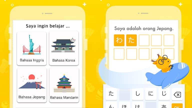 aplikasi belajar bahasa jepang offline terbaik android