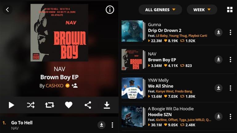 aplikasi mendownload lagu