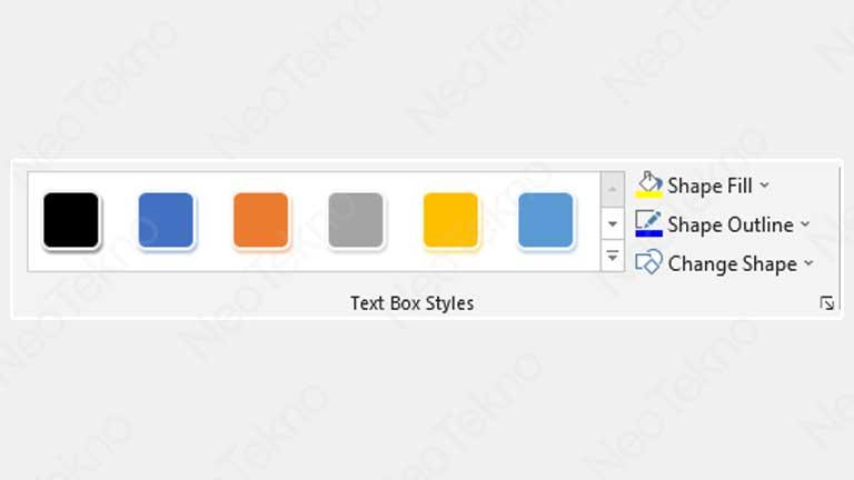 cara merubah warna text box
