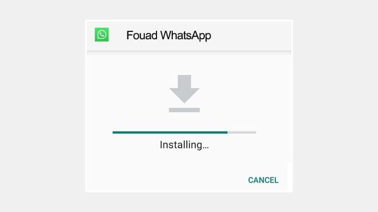 Cara Install Fouad WhatsApp